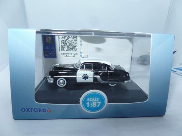 Oxford 87PC54003 PC54003 1/87 HO Scal Pontiac Chieftain 4 Door 1954 California
